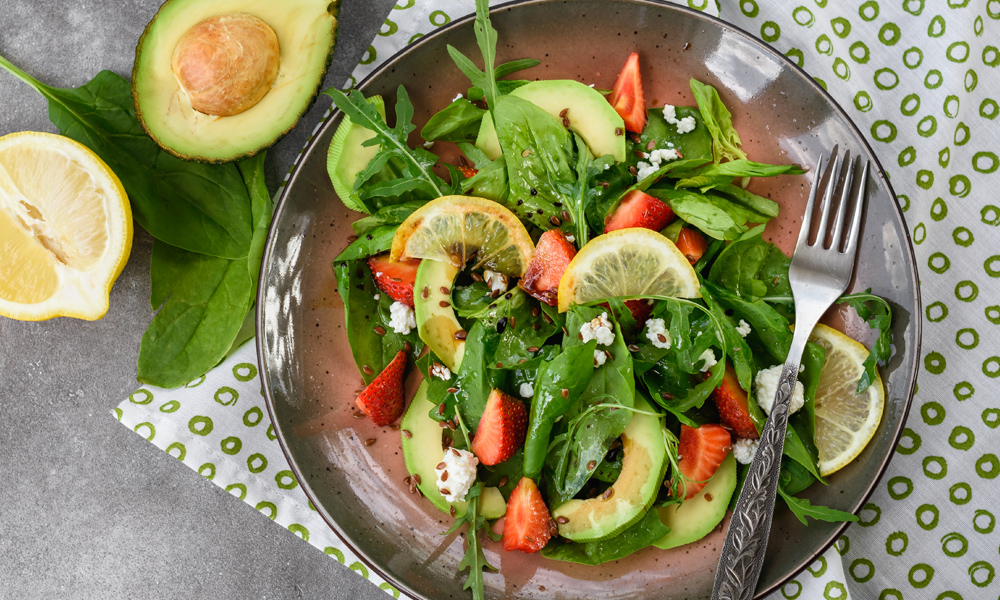 Avocado Strawberry Salad