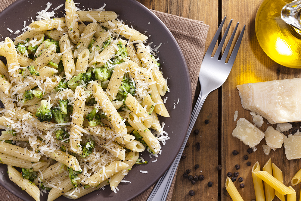 broccoli garlic penne