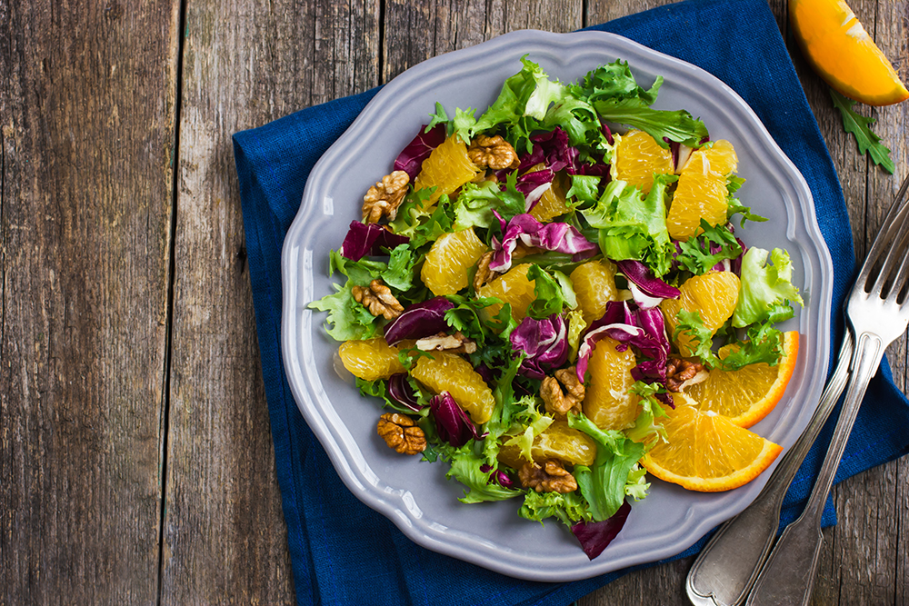 Citrus Green Salad