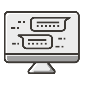 wellness assessment computer icon